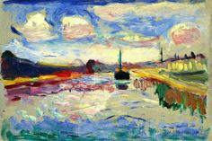 The Canal du Midi, 1898  Henri Matisse