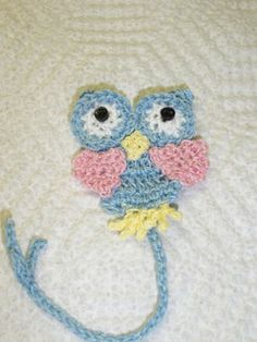 Buster Owl Bookmark Crochet Pattern (this site has a link to the pattern for the owl and they had made it into a bookmark)
