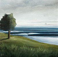 Rick Tontz surf art