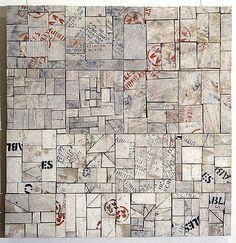 Rosalie Gascoigne  'White city'  1993