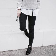 Grey and black style