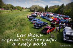 Can the car hobby help you escape the realities of the world? MSCC thinks so-here's the link: http://mystarcollectorcar.com/get-into-the-car-hobby-and-away-from-lifes-ugly-side/ #carshows