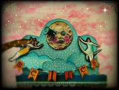 Toy paper theater inspired by Georges Méliès - Licesbury's Cabinet of Scrapities