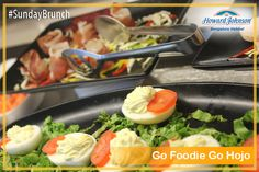 Treat your palate to mouth watering delicacies that have self indulgence written all over them this Sunday. #GoFoodieGoHojo #SundayBrunch