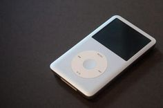 This is my Apple iPod Classic, I store all my audible books on it.