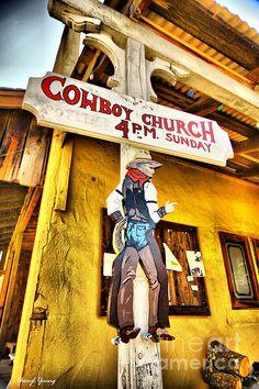 Historic Fiddle Town, Ca   Cowboy Church