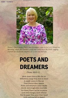 My poem that was recently published in this months issue of The Australia Times Poetry Magazine ☺