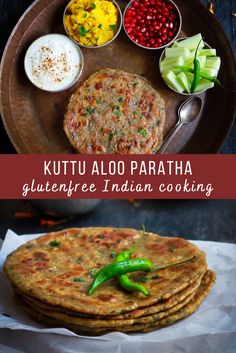 Everyone's favorite aloo paratha made using healthy ingredients like buckwheat flour, potatoes & spices gets a gluten-free makeover in this Kuttu Aloo Paratha recipe! Free Makeover, Easy Potato Recipes, Paratha Recipes, Potato Wedges, Buckwheat, Salmon Burgers, Sweet Potato, Meal Prep, Spices