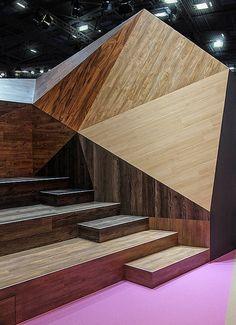 Armstrong – BAU 2013, München. Ein Projekt von Ippolito Fleitz Group – Identity Architects, Sitzmöbel.