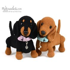 In this article we will introduce you the best models of amigurumi crochet dog patterns. Crochet Dog Patterns, Animal Knitting Patterns, Stuffed Animal Patterns, Amigurumi Patterns, Amigurumi Doll, Crochet Animals, Crochet Toys, Free Crochet, Plush Pattern