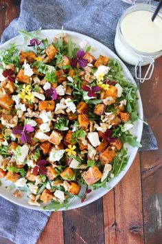 Feta, Waldorf Salat, Vegetarian Recipes, Healthy Recipes, Recipes From Heaven, Wine Recipes, Food Inspiration, Cravings, Side Dishes