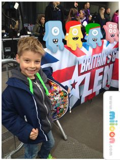 Moshi Monsters Ruckjack meets Britains Got Talent!