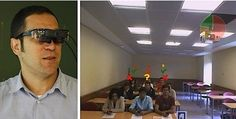 #realityglass #technology #classroom #smart #glasses Spanish researchers use augmented reality glasses and smartphones to aid student-teacher classroom communications