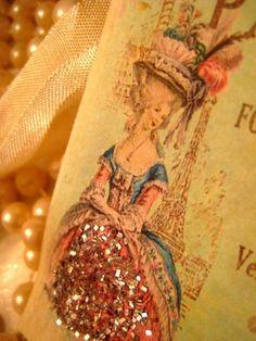 handmade parisian gift tags