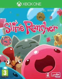Slime Rancher for Xbox One. First Person Farming Exploration Game with 3 game modes: Adventure Casual and Rush. You can combine slimes into more than 150 hybrid slimes. Cute funny and colorful! Slime Rancher - Xbox One Video Games Jeux Xbox One, Xbox 1, Xbox One Games, Ps4 Games, Playstation, Soccer Games, Games Consoles, Red Dead Redemption, Videogames