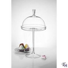 $59 ROUND FOOTED CAKE STAND WITH GLASS DOME by Godinger Silver Art, http://www.amazon.com/dp/B005G42GFW/ref=cm_sw_r_pi_dp_ICoIrb114A2ZZ