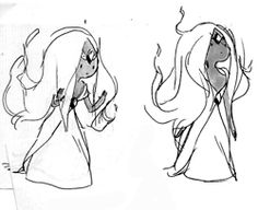 Flame Princess sketch by Rebecca Sugar