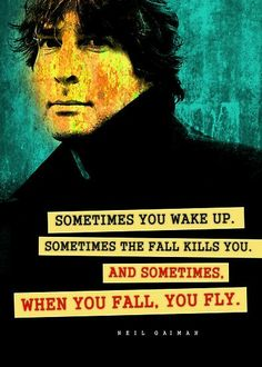 Neil Gaiman Inspirational Quote