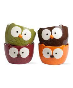 Look at this #zulilyfind! Oliver Owl Bowl Set by tag #zulilyfinds. $28.99