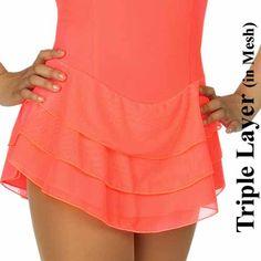 Triple Layer Skate-Skirt