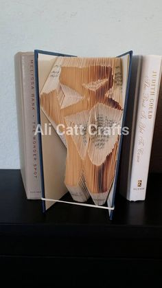 Ballet Shoes  Book Folding Pattern by alicattcrafts on Etsy