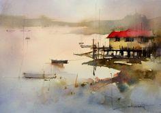 Presenting John Lovett's watercolor paintings