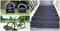 Have some old tires creating clutter in your garage? Do something with them! We've found 16 super cool tire hacks and DIY projects that can turn those old pieces of rubber into something useful and FUN. You'll never look at old tires the same way again! Tire Hacks for the Home and Garden Add somethingread more...