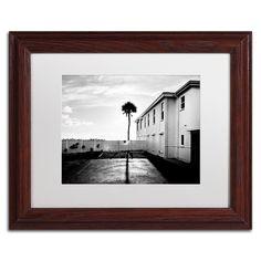 Florida Lone Palm by Preston Framed Photographic Print