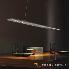 Inspired by the very circuit boards that make linear LED applications possible, Tech Lighting Parallax Linear Suspension. #TechLighting #LinearSuspension #LED Available at loftmodern.com  http://www.loftmodern.com/products/tech-lighting-parallax-linear-suspension