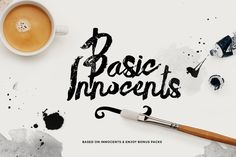 Yet another amazing fonts mega bundle with best fonts and graphics for designers. This Fonts deal is just for you! 25 custom fonts in one of the biggest and Brush Font, Brush Lettering, Lettering Design, Lettering For Beginners, Paint Font, Retro Font, Modern Fonts, Custom Fonts, Illustrations