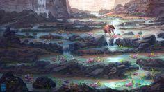 Water Garden by JoshHutchinson on deviantART