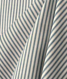 Waverly Timeless Ticking Wedgewood Fabric