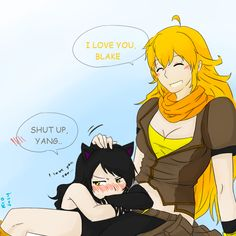 Just pictures of ships that I have. There will be some lewd pics Disclaimer: I do not own Rooster Teeth or RWBY. Rwby Anime, Rwby Fanart, Cute Anime Pics, Cute Anime Couples, Manga, Rwby Yang, Rwby Bumblebee, Rwby Blake, Yuri Anime