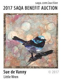 Art quilt by Sue de Vanny