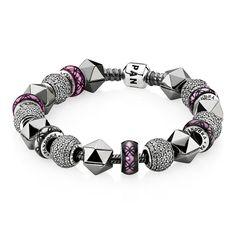 pandora - purple sweet bracelet !!