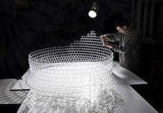 TobiasTøstesen Transforms 8,000 LEGO Windows into a Dazzling Chandelier…