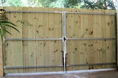 6 ft gate plans | Wrought Iron Driveway Gates and Fence, Automatic Gate Opener