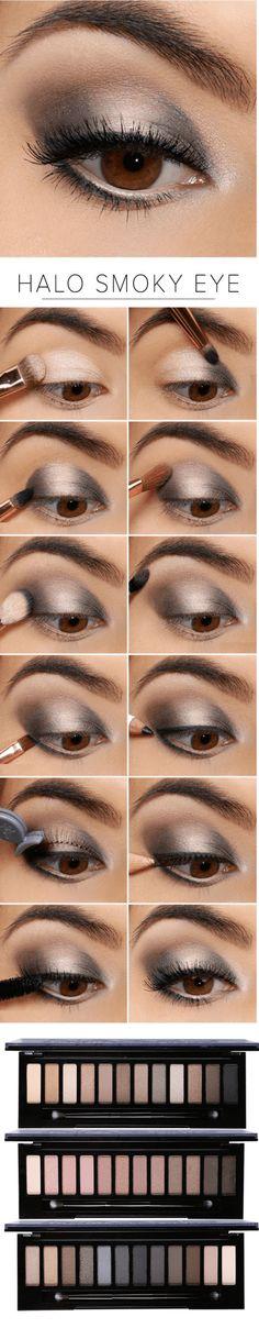 """Family Deals Make up Select """"Naked"""" Smoky Eye shadow maquillaje maquillage Eye Makeup Tips, Skin Makeup, Beauty Makeup, Makeup Ideas, 80s Makeup, Dead Makeup, Witch Makeup, Scary Makeup, Clown Makeup"""