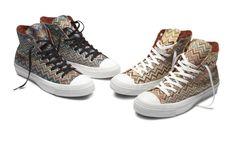 Missoni Converse İçin Tasarladı Converse, Missoni ile özel tasarım koleksiyonu için 8inci kez ortak bir çalışmaya gidiyor. İtalyan moda markası 2 adet yüksek, üç adet alçak tabanlı sneaker'dan oluşan 5 ... #BezAyakkabı, #ConverseAyakkabı, #MissoniAyakkabı, #SporAyakkabı http://www.tasarimvedekorasyon.com/2014/08/29/missoni-converse-icin-tasarladi/