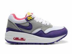 Club Purple, Matte Silver, Air Max 1, Womens Nike Air Max, Max
