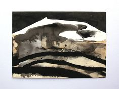 Art painting Abstract painting Landscape painting Abstract wall art Black painting Home decor Original Art Modern Art Ink Painting Small art