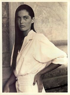 // Calvin Klein by Bruce Weber. 1988.