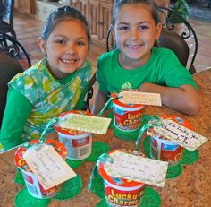 Pine Creek Style: A Crafty Weekend with the Grand Kids...St. Patty's breakfast idea!