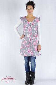 Weiteres - Kleid Schürze Kittel Annabelle/ Blumenkleid - ein Designerstück von Kittelcouture bei DaWanda