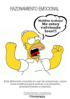 El RAZONAMIENTO EMOCIONAL, por Homer Simpson