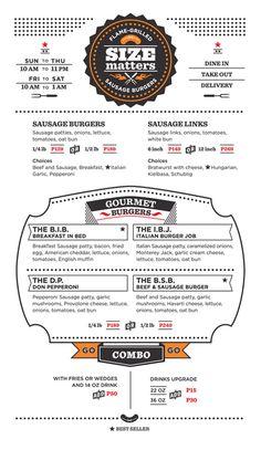 30 Buenos ejemplos de diseños de menús para restaurantes y bares | TodoGraphicDesign