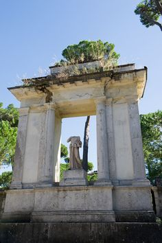 dream gardens: Renesančný park Villa Borghese, Rome, Italy