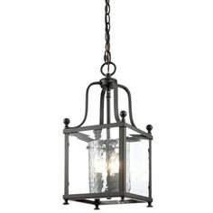 Shop for Z-lite Bronze and Hammered Glass 3-light Pendant. Get free shipping at Overstock.com - Your Online Home Decor Outlet Store! Get 5% in rewards with Club O!