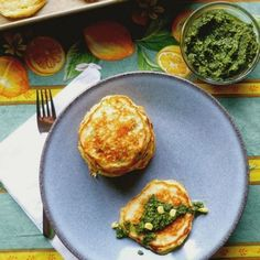 The addition of sweet white miso updates a traditional corn cake recipe.