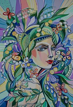 Евгения Намаконова Art And Illustration, Illustrations And Posters, Pop Art Decor, Mural Art, Fabric Painting, Beautiful Artwork, Original Paintings, Abstract Art, Canvas Art